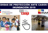 Medidas de Protección ante Casos de Inundación 2019