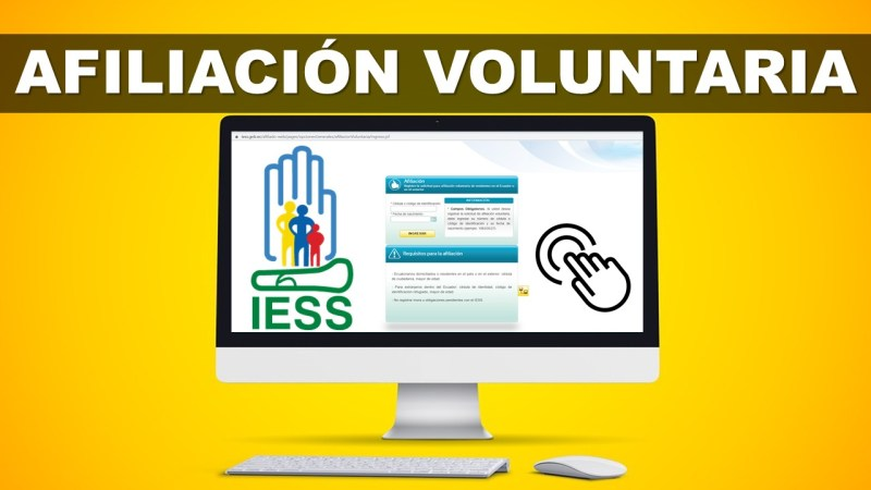 Afiliación Voluntaria del IESS