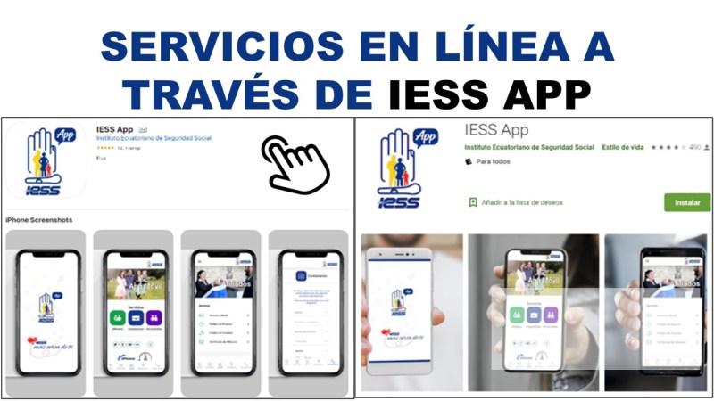 Servicios en Línea a Través de IESS App