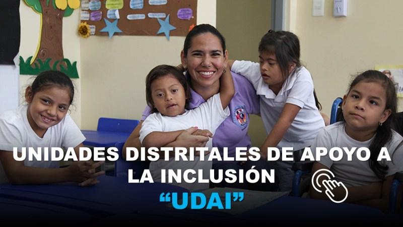 Unidades Distritales de Apoyo a la Inclusión UDAI
