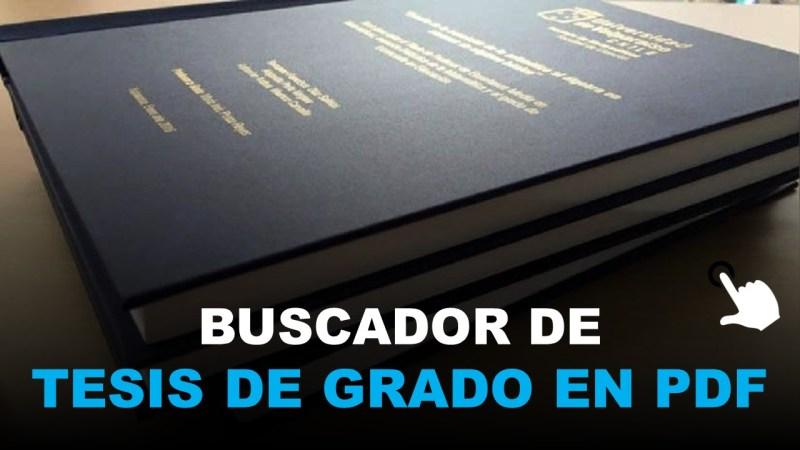 buscador de tesis de grado por internet en pdf
