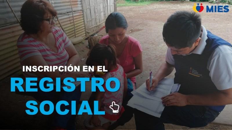 Inscripción en el Registro Social MIES