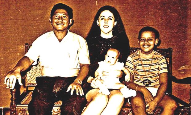 Lolo Soetoro and Family ca. 1971