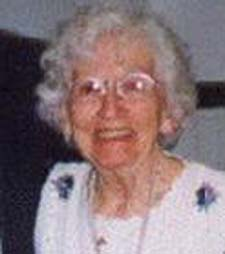 Ethel Rowe at 89th birtjhday in 2000
