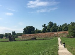 Medieval walls at Ferrara