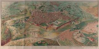 Jerusalem - historic map