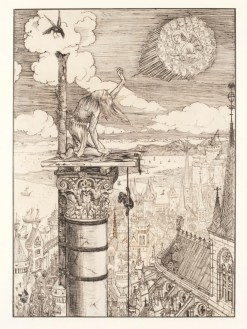 Simeon on top of his pillar