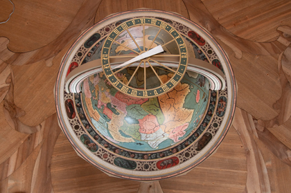 The Globe from the Pole