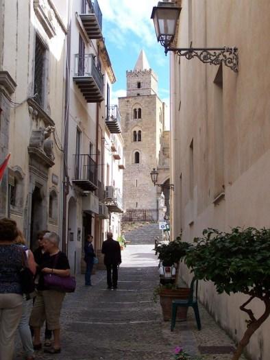 Cefalu - narrow street