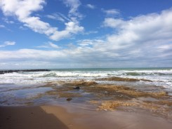 The sea at Punta Secca