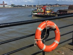 Dazzle Ferry at Woodside