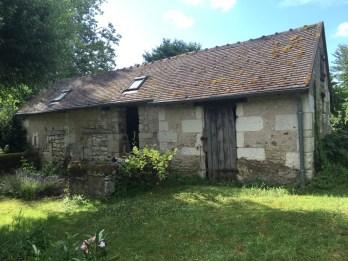 Barns awaiting renovation