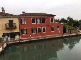 Torcello - houses by the canal
