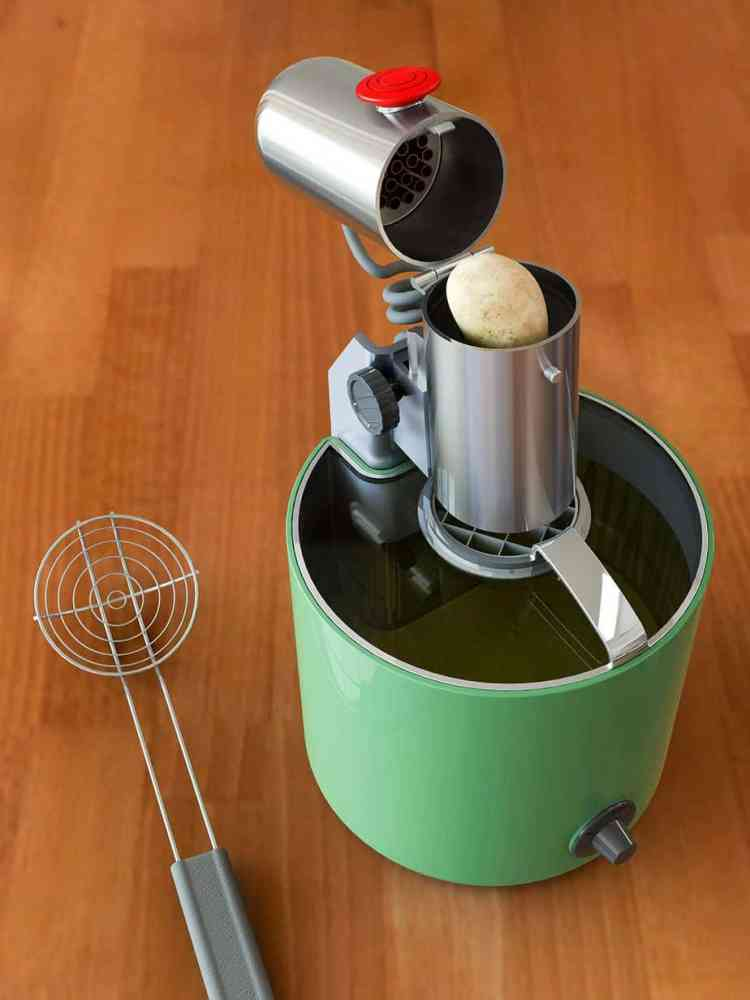 The instant fryer, the real thing