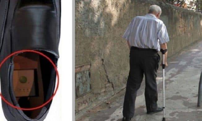 Newly Invented Shoes With GPS to Track Elderly Family Members With Alzheimers and Prevent Them From Getting Lost 653x393 1