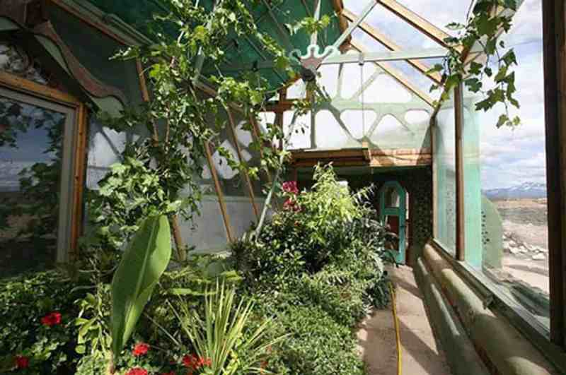 Earthship Indoor Garden