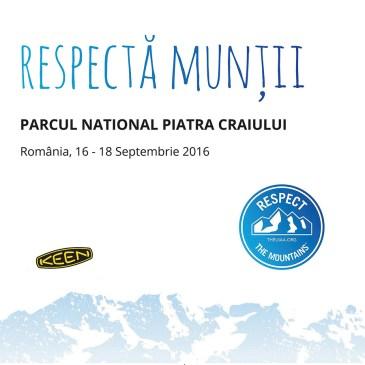 """Înscrieri Voluntari pentru proiectul """"Respectă Munții"""""""