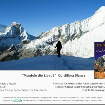 """""""Muntele din Livadă"""" – Cordillera Blanca (Ed. 2, 26 Feb. 2018)"""