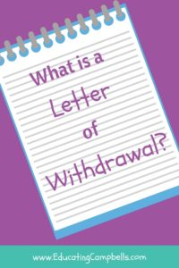 Letter of Withdrawal Pinterest Image