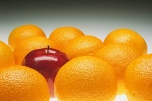 Don't fall into the homeschool comparison trap - oranges with one apple