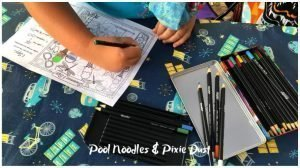 Pool Noodles & Pixie Dust - I spy printable
