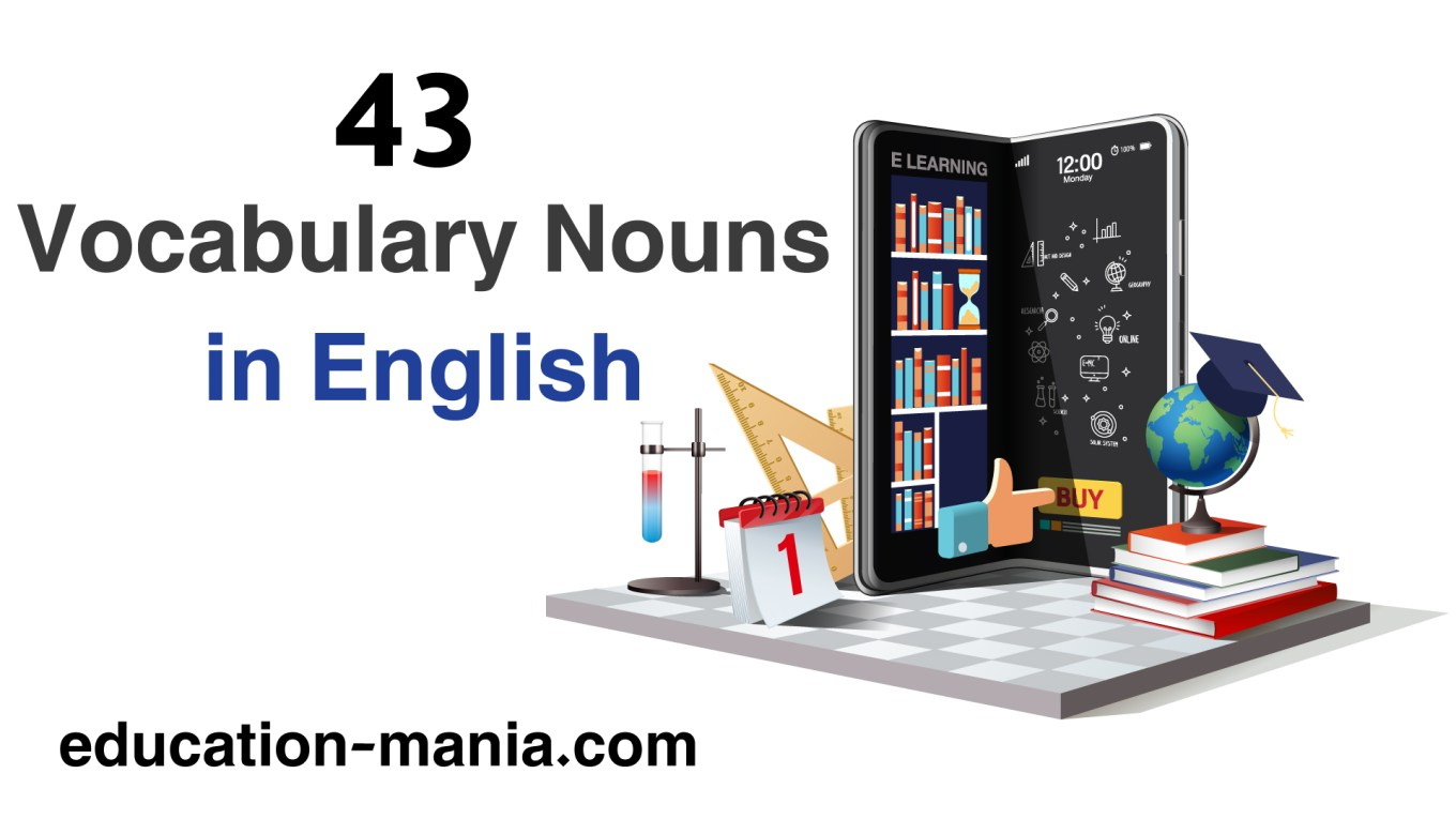 Vocabulary Nouns in English