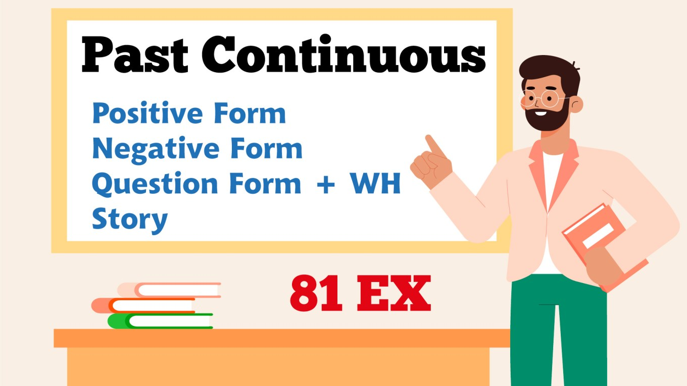 English Grammar - Past Continuous