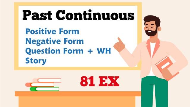 English Grammar - Past Continuous