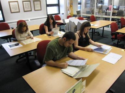 Teachers study records