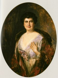 Portrait of Edith Bolling Wilson
