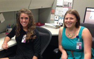 Interns at the National Archives