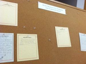 Board of new amendments