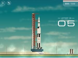Shuttle Launch in App