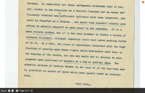Letter from John Irish on DocsTeach