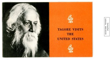 Tagore Visits the United States, a 1961 USIS publication