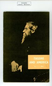 Tagore and America, a 1961 USIS publication