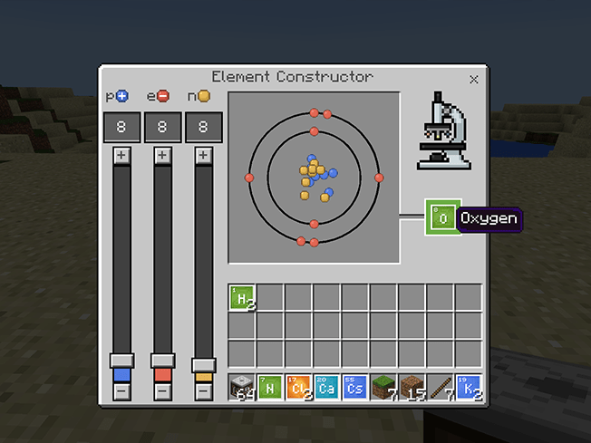 Chemistry  Minecraft Education Edition
