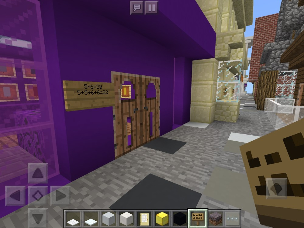 medium resolution of Area and Volume   Minecraft: Education Edition