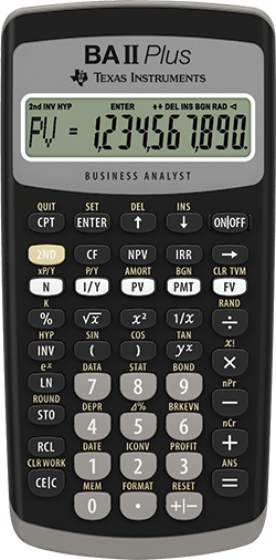 Ba Ii Plus Calculator Online : calculator, online, Plus™, Financial, Calculator