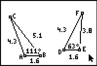 The Hinge Theorems: Geometry: