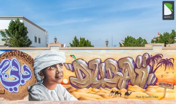 Graffiti Dubai
