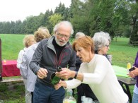 André G. et Sylvie P. au pique-annuel, sept. 2017