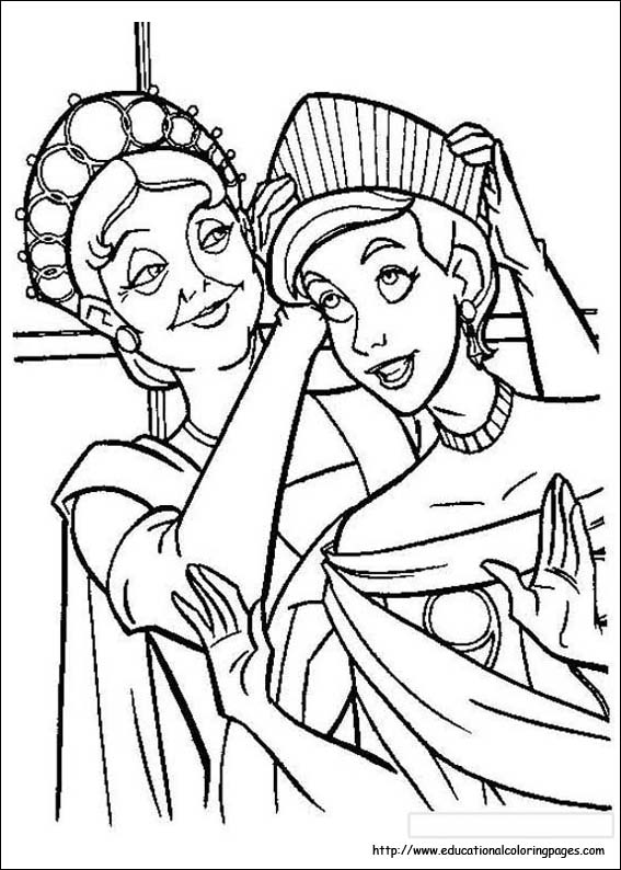 anastasia coloring pages # 4