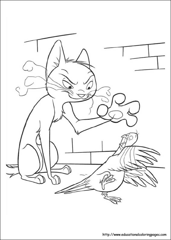 bolt the dog coloring pages