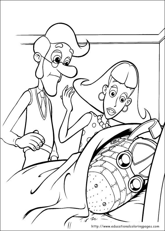 Jimmy Neutron Coloring Pages Educational Fun Kids Coloring Pages And Preschool Skills Worksheets