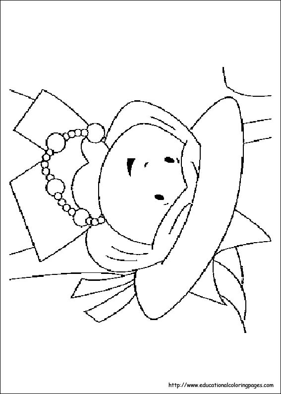 Madeline Coloring Educational Fun Kids Coloring Pages