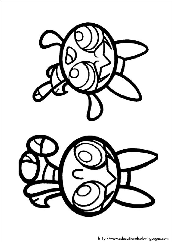 Power Puff Girls Coloring Pages free For Kids