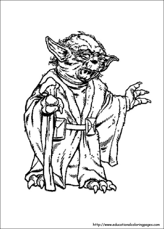 Star Wars Coloring Pages free For Kids