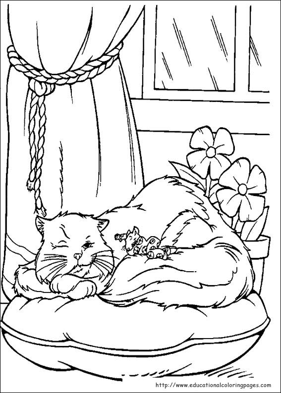 Stuart little coloring pages educational fun kids, tinkerbell coloring pages