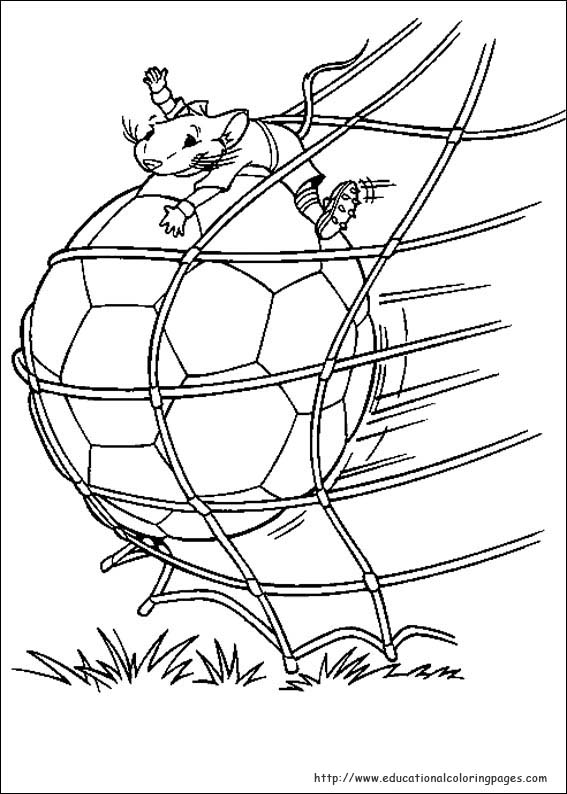 Stuart Little Coloring Pages Educational Fun Kids